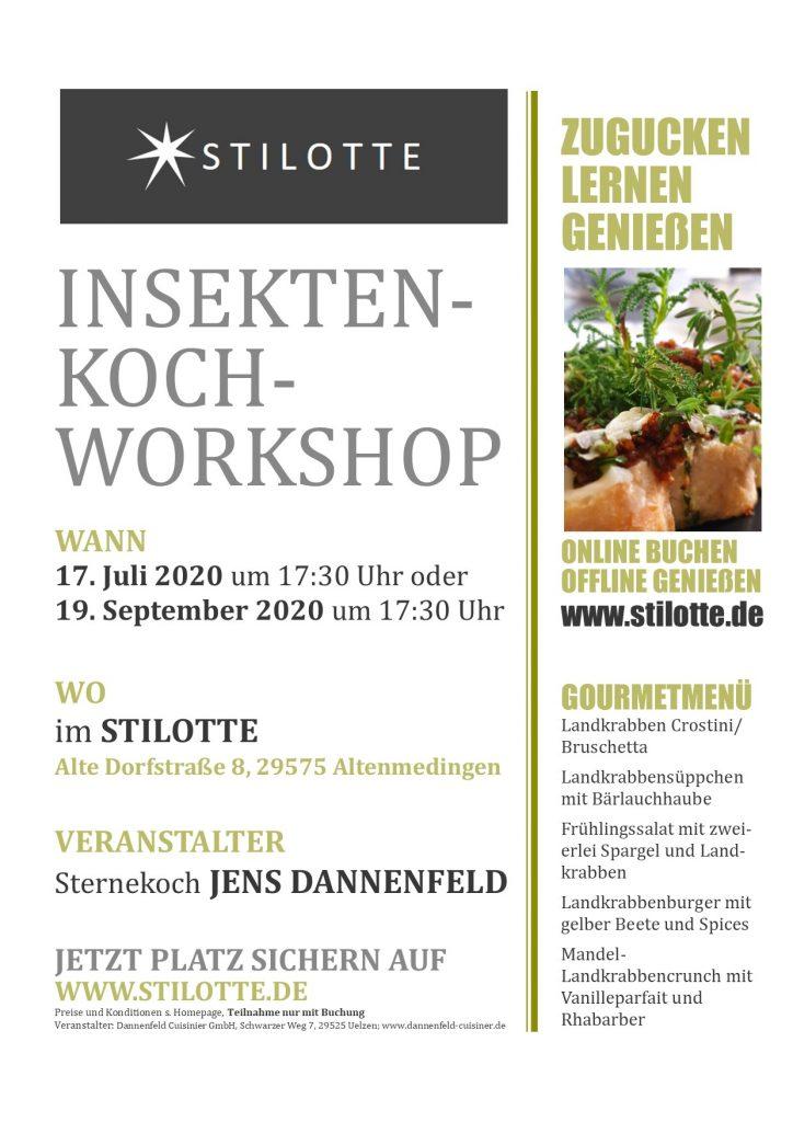 Kochworkshop Insektenfood Dannenfeld Cuisinier